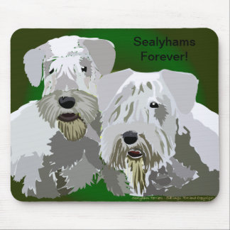 Sealyhams Forever Mousepads