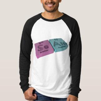 Seam as Se Selenium and Am Americium T-Shirt