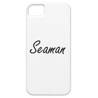 Seaman Artistic Job Design iPhone SE/5/5s Case