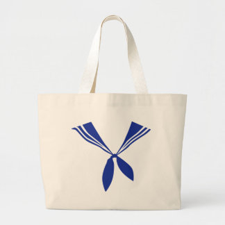 Seaman uniform large tote bag