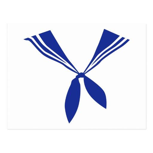 Seaman uniform postcard