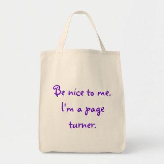 Séame agradable bolso para los torneros de la pági bolsas