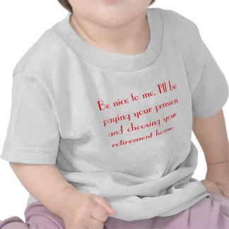 Séame agradable camiseta infantil
