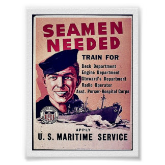 Seamen Needed Poster