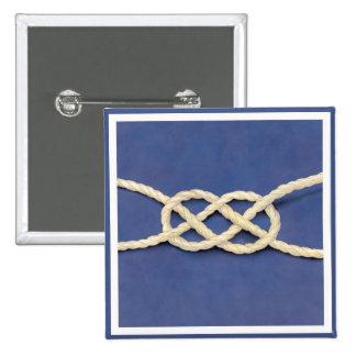 Seamen's Knot - Carrick Bend Button