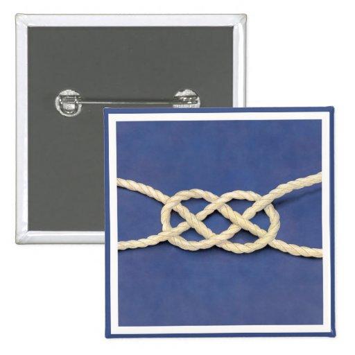 Seamen's Knot - Carrick Bend Pins