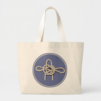 Seamen's Knots Jumbo Tote Bag