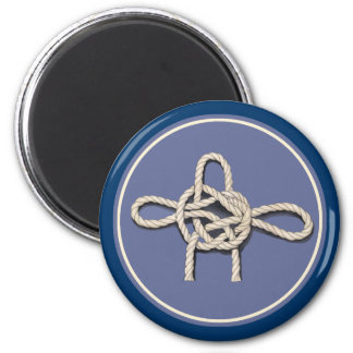 Seamen's Knots Refrigerator Magnet