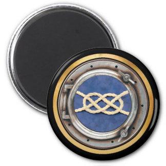 Seamen's Knots 2 Inch Round Magnet