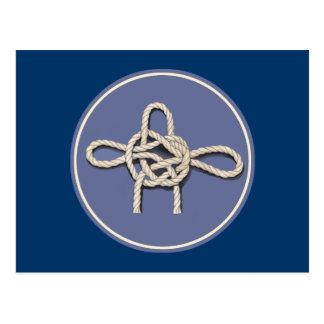 Seamen's Knots Postcard