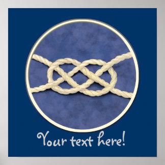 Seamen's Knots Poster