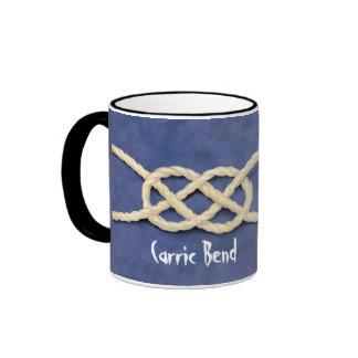 Seamen's Knots Ringer Mug