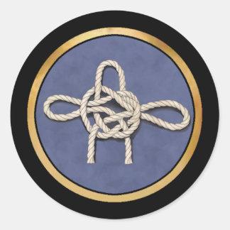 Seamen's Knots Stickers