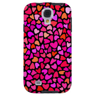 Seamles Colorful Hearts Pattern Girly S4 Case