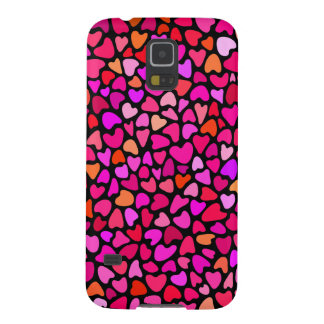 Seamles Colorful Hearts Pattern Girly S5 Case