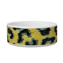 Seamless animal fur texture bowl