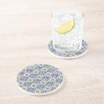 Seamless Azulejo Art Tile Coasters