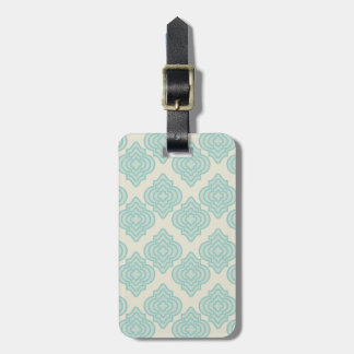 Seamless background bag tag