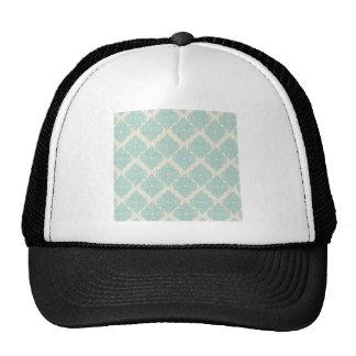 Seamless background trucker hat