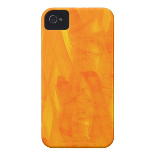 Seamless Background Yellow Abstract Watercolor Case-Mate iPhone 4 Cases