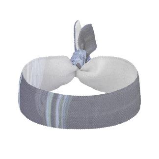 Seamless Blue Fractal Elastic Hair Tie