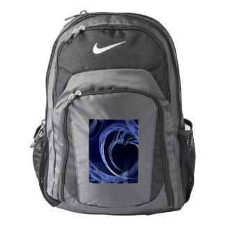 Seamless Blue Fractal Nike Backpack