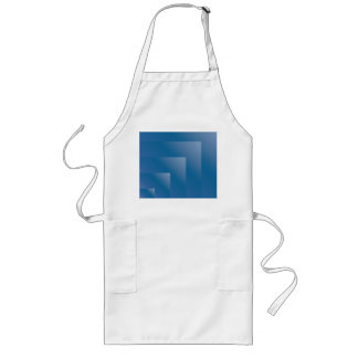 Seamless Blueberry Gradient Long Apron