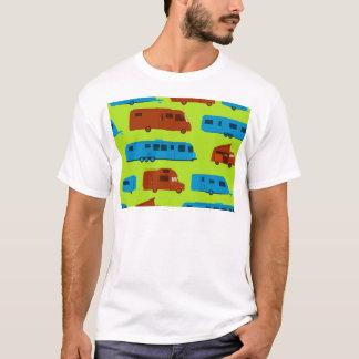 Seamless Caravan Pattern T-Shirt