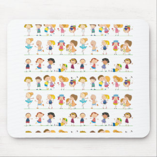 Seamless children mouse pad