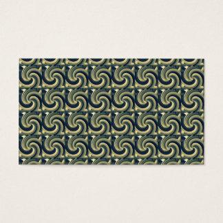 Seamless Colored Swirl Pattern Business Card