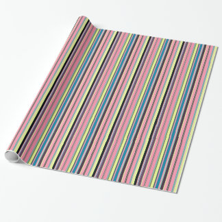 Seamless colorful stripes pattern background wrapping paper