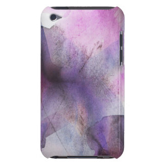 seamless cubism purple abstract art Case-Mate iPod touch case