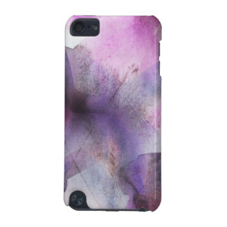 seamless cubism purple abstract art iPod touch (5th generation) cover