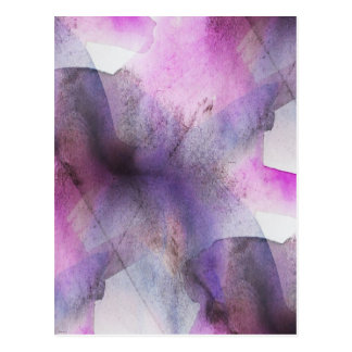 seamless cubism purple abstract art postcard
