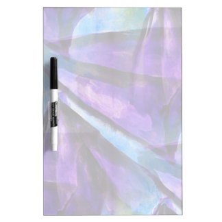 seamless cubism purple, blue abstract art dry erase board