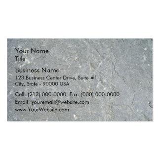 Seamless Dark Rock Texture Business Card