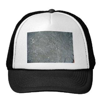Seamless Dark Rock Texture Mesh Hat