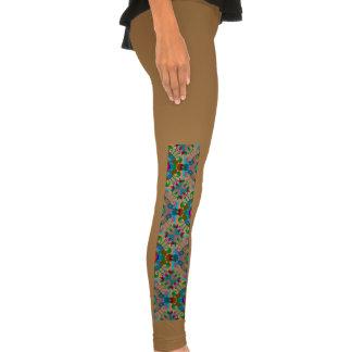Seamless Decorative Pattern Leggings