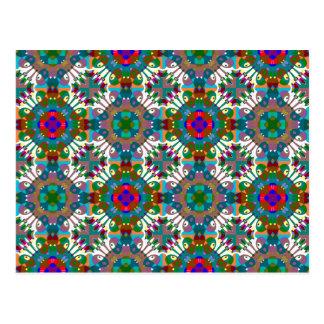 Seamless Decorative Pattern Postcard