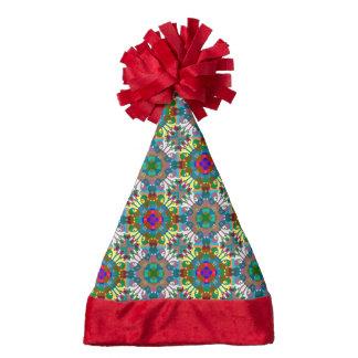 Seamless Decorative Pattern Santa Hat