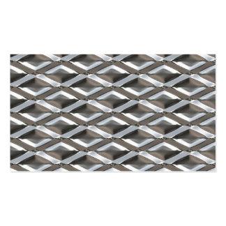Seamless Diamond Shaped Chrome Plated Metal Business Cards
