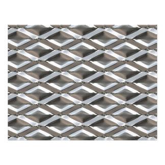 Seamless Diamond Shaped Chrome Plated Metal Flyer
