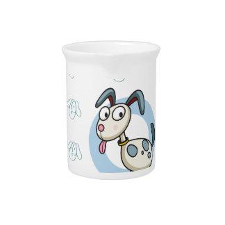 Seamless dog beverage pitchers