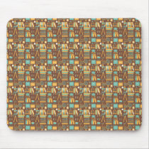 Seamless Education Pattern Mouse Pad