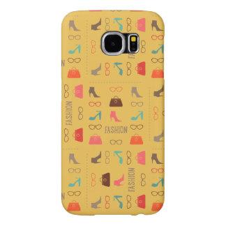 Seamless Fashion Pattern Samsung 6 Case