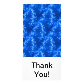 Seamless Fractal Blue Card