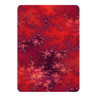 Seamless Fractal Red Card