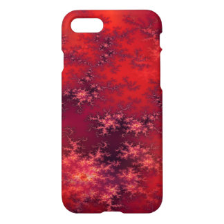 Seamless Fractal Red iPhone 8/7 Case