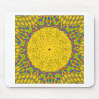 Seamless Golden ornamental. Mouse Pad