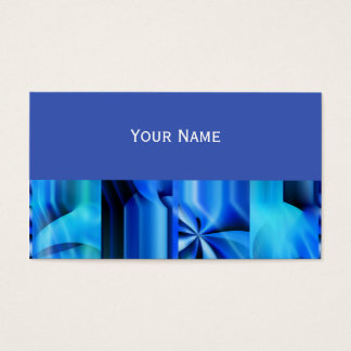 Seamless Graphic Design - blue black I Business Card